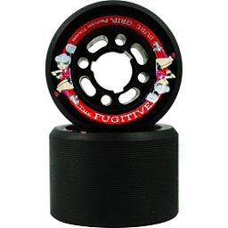 Sure Grip International Fugitive Roller Skate Wheels - 8 Pack, Black, 256