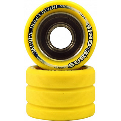 Sure Grip International Interceptor V-Drive Roller Skate Wheels - 8 Pack, , large