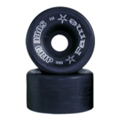 Sure Grip International Fame Roller Skate Wheels - 8 Pack, Black, medium