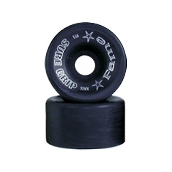 Sure Grip International Fame Roller Skate Wheels - 8 Pack, Black, 600