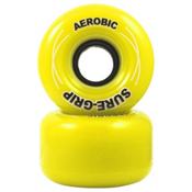 RC Aerobic Roller Skate Wheels - 8 Pack 2013, Yellow, medium