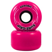 RC Aerobic Roller Skate Wheels - 8 Pack 2013, Pink, medium