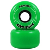 RC Aerobic Roller Skate Wheels - 8 Pack 2013, Green, medium
