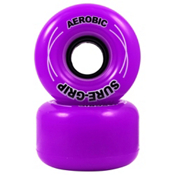 RC Aerobic Roller Skate Wheels - 8 Pack 2013, Purple, medium