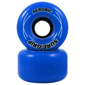 RC Aerobic Roller Skate Wheels - 8 Pack 2013, Blue, medium