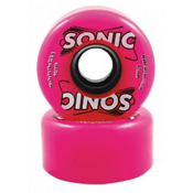Hyper Sonic Roller Skate Wheels - 8 Pack 2014, Pink, medium