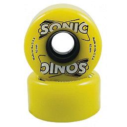 Hyper Sonic Roller Skate Wheels - 8 Pack, Yellow, 256