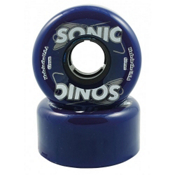 Hyper Sonic Roller Skate Wheels - 8 Pack, Blue, medium