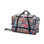 Athalon Sport Bags 29in Wheeling Duffel Duffle Bag 2013, Graffiti, medium