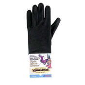Seirus Deluxe Thermax Kids Glove Liners, Black, medium