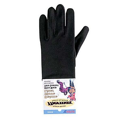 Seirus Deluxe Thermax Kids Glove Liners, Black, viewer