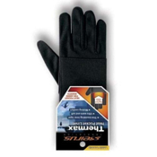 Seirus Thermax Heat Pocket Kids Glove Liners, Black, medium