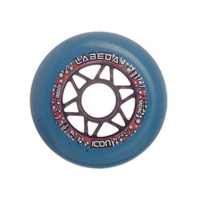 Labeda Icon Hard Durometer 80mm Inline Skate Wheels - 10 Pack, , large