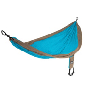 ENO Single Nest Hammock 2016, Teal-Khaki, medium