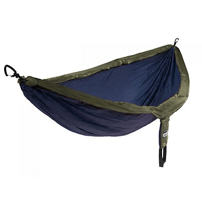 ENO Double Nest Hammock 2016, Navy-Olive, viewer