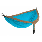 ENO Double Nest Hammock 2016, Teal-Khaki, medium