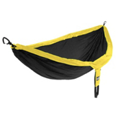 ENO Double Nest Hammock 2015, Black-Yellow, medium