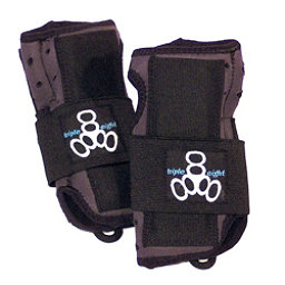 Triple 8 Undercover Junior Wrist Guards, Black, 256