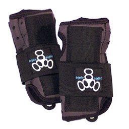 Triple 8 Undercover Wrist Guards, Black, 256