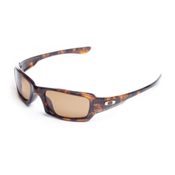 Oakley Fives Squared Sunglasses, Brown Tortoise, medium