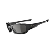 Oakley Fives Squared Sunglasses, Polished Black, medium