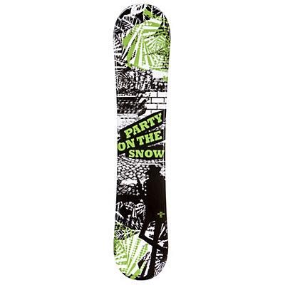 SLQ Awesome Green Boys Snowboard, , viewer
