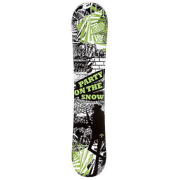 SLQ Awesome Green Boys Snowboard, , 600