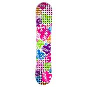 Sionyx Hearts White Girls Snowboard, , medium