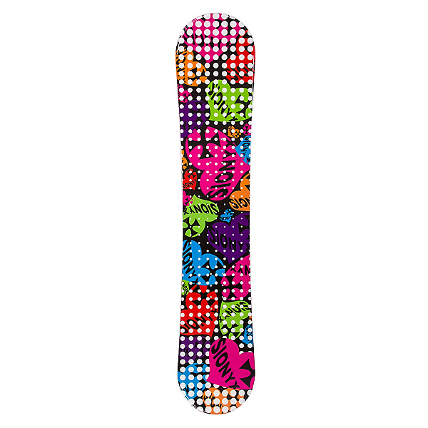 Sionyx Hearts Black S Girls Snowboard, , 600