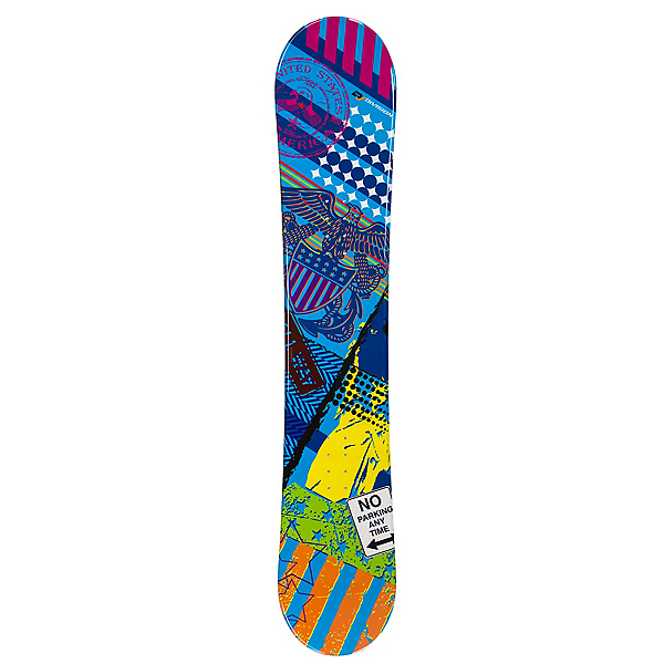 Division Six Sports Patriot Blue Snowboard, , 600