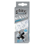 Elite Hockey Prolace Hockey Skate Laces, White-Navy, medium