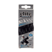 Elite Hockey Prolace Hockey Skate Laces, Black-White, medium