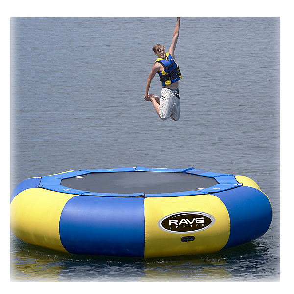 Rave Aqua Jump Eclipse 150 15 Foot Water Trampoline, , 600