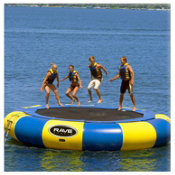 Rave Aqua Jump Eclipse 200 20 Foot Water Trampoline 2016, , medium