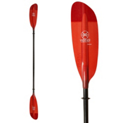 Werner Paddles Camano 2PC Kayak Paddle, Red, medium