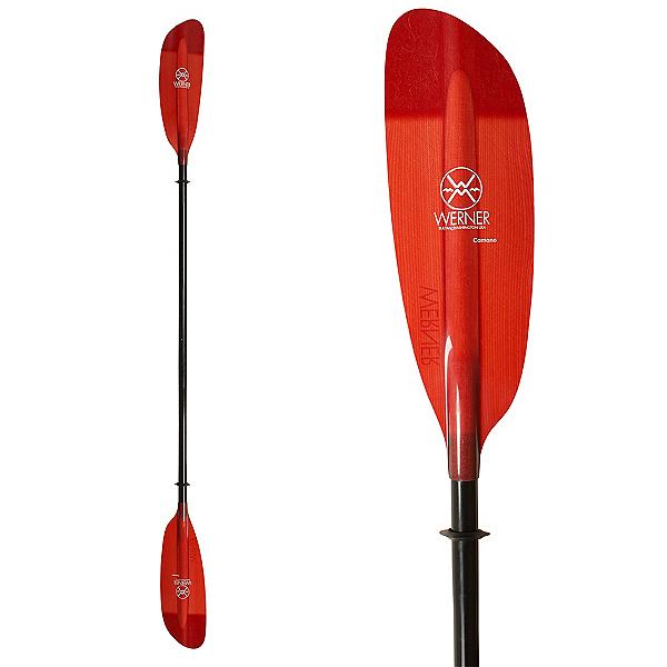 Werner Paddles Camano 2PC Kayak Paddle 2017, Red, 600