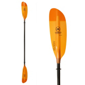 Werner Paddles Camano 2PC Kayak Paddle, Orange, medium