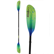 Werner Paddles Camano 2PC Kayak Paddle 2017, Catch Lime Drift, medium