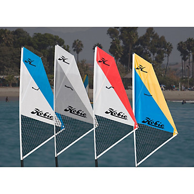 Hobie Mirage Kayak Sail Kit, White-Red, viewer