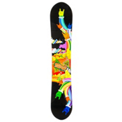 Black Fire Scoop Hands Snowboard, , medium