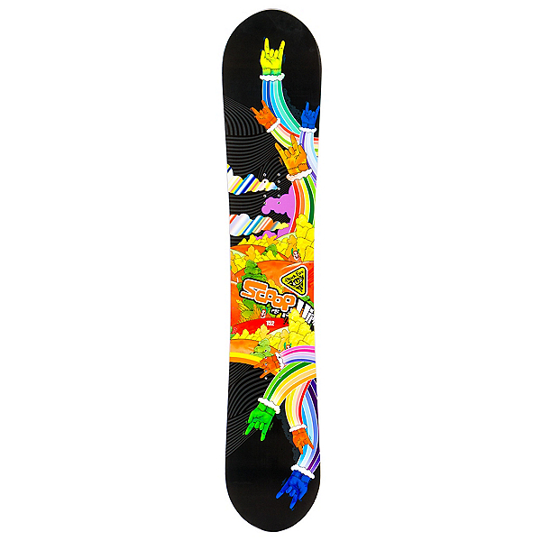 Black Fire Scoop Hands Snowboard, , 600