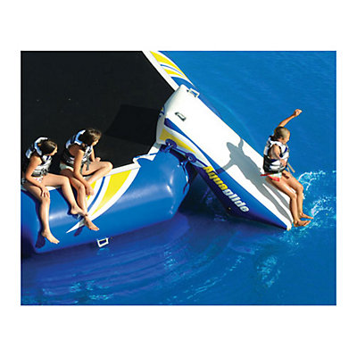 Aquaglide Platinum Rebound 16 Bouncer Slide Water Trampoline Attachment 2015, , large