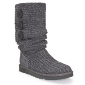 UGG Australia Classic Cardy Womens Boots, Grey, medium