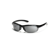 Smith Parallel Polarized Sunglasses, Black, medium