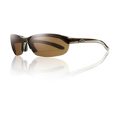 Smith Parallel Polarized Sunglasses, Brown, medium