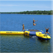 Rave Aqua Jump Eclipse 150 Water Trampoline Park 2016, , medium