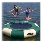 Rave Aqua Jump Eclipse 120 Northwoods Edition Water Trampoline 2016, , medium