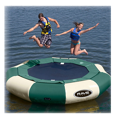 Rave Aqua Jump Eclipse 120 Northwoods Edition Water Trampoline, , viewer