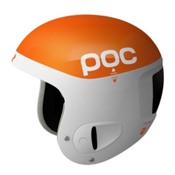 POC Skull Comp Helmet, White-Orange, medium
