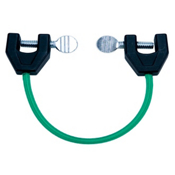 Lucky Bums Easy Wedge Ski Tip Connector, Green, medium